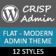 CrispAdmin - Modern Flat Admin Theme - CodeCanyon Item for Sale