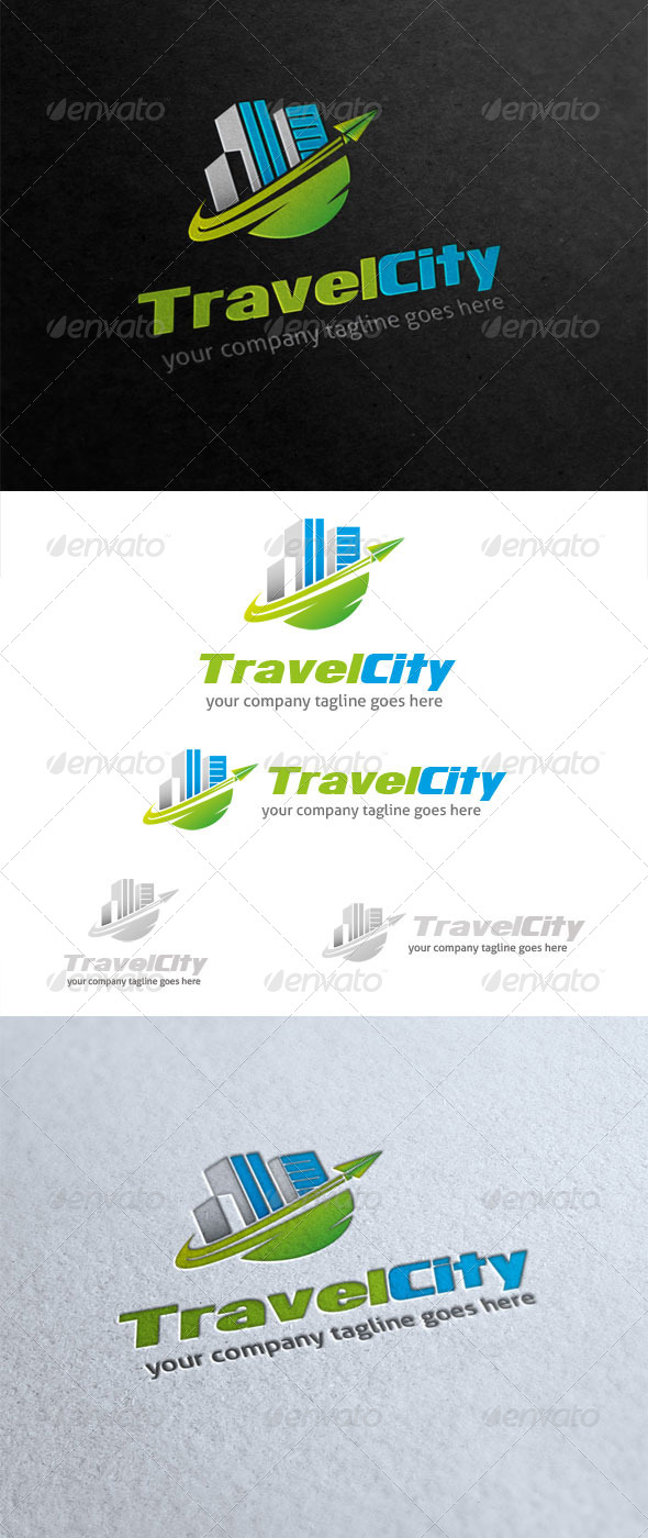 GraphicRiver Travel City Logo 5792978