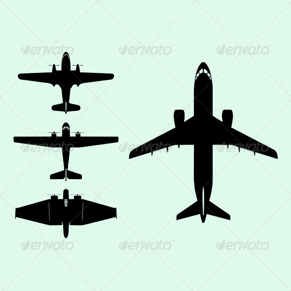 GraphicRiver Airplanes 5807177