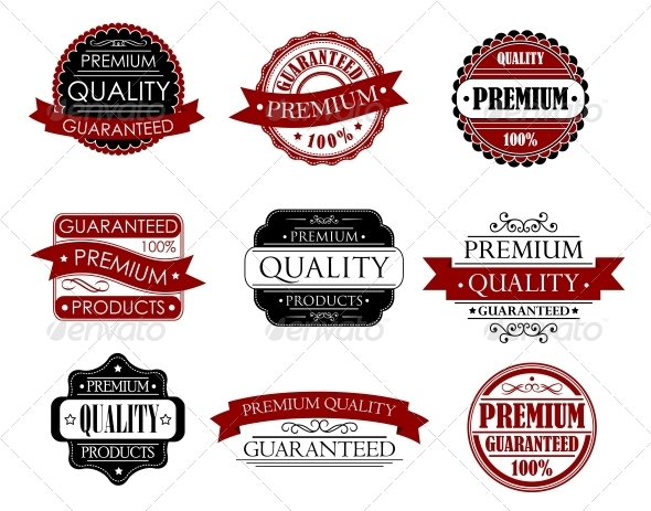 GraphicRiver Set of Labels for Design 5808733