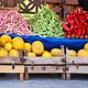 Fresh Organic Fruits and Vegetables At A Street Market - PhotoDune Item for Sale