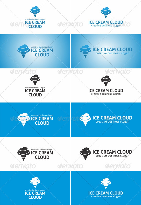 Ice Cream Cloud Logo