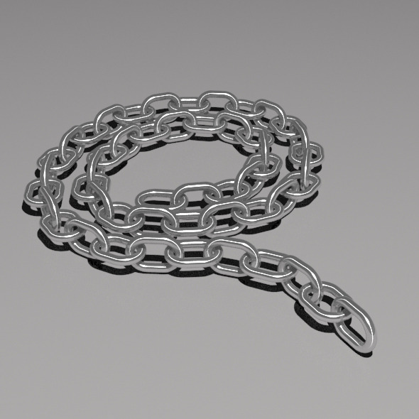 3DOcean 50 Link Poseable Chain 5810811
