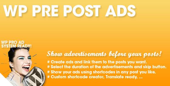 WP Pre Advertisement - WordPress Membership Plugin