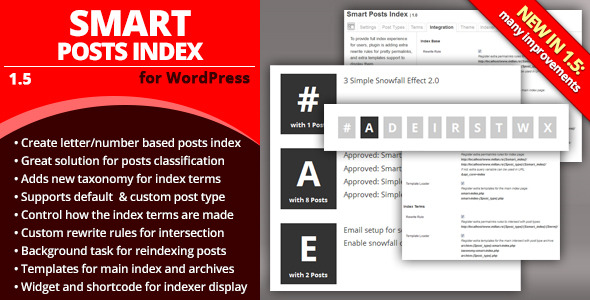 Smart Posts Index - CodeCanyon Item for Sale