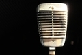 Retro Shining Studio Microphone - PhotoDune Item for Sale