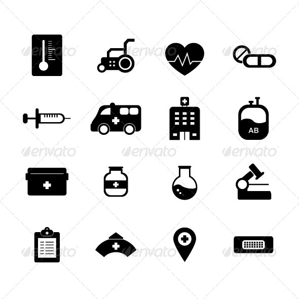 GraphicRiver Hospital Icon 5813128