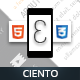 Ciento Mobile Retina | HTML5 & CSS3 And iWebApp - ThemeForest Item for Sale