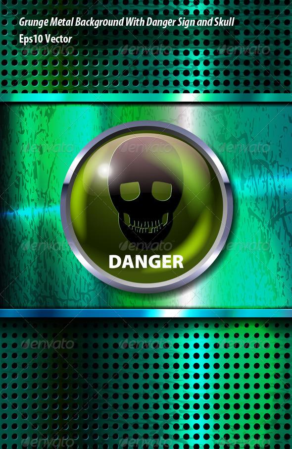GraphicRiver Danger Sign 5814626