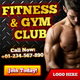 Fitness & Gym Club Banner ad Set - GraphicRiver Item for Sale
