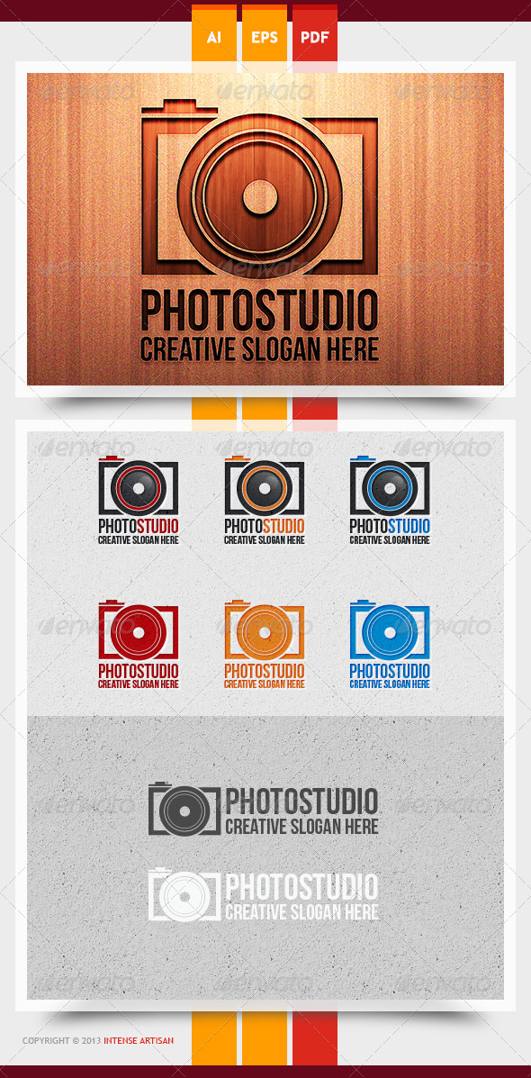 GraphicRiver Photo Studio Logo Template 5815775
