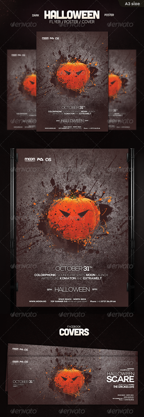 GraphicRiver Halloween Poster Flyer 5815877