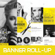 Premium Hair Salon Roll-up Banner - GraphicRiver Item for Sale