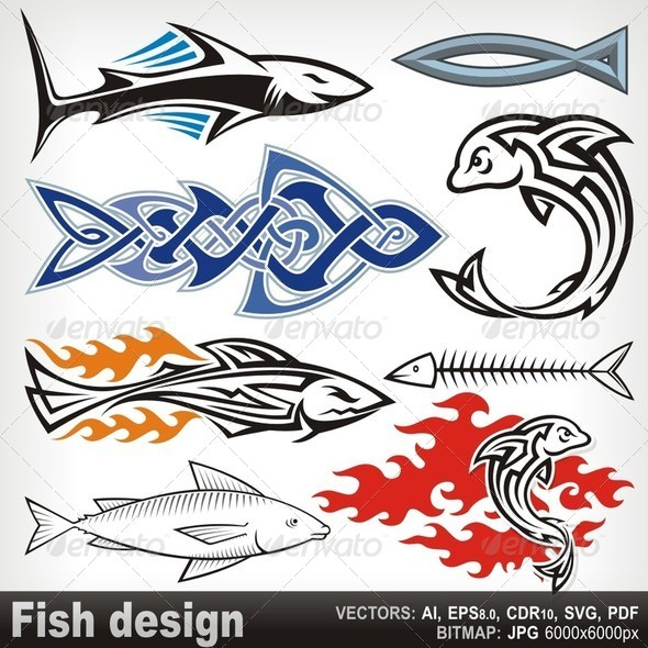 GraphicRiver Fish Design 5799704
