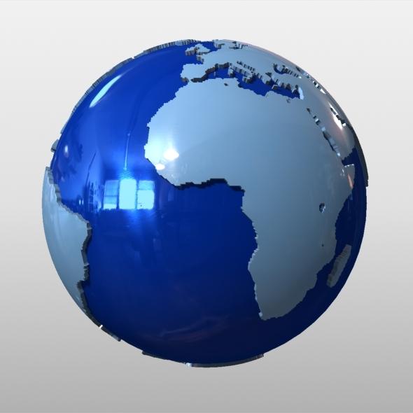 3DOcean News Earth Globe 5816716