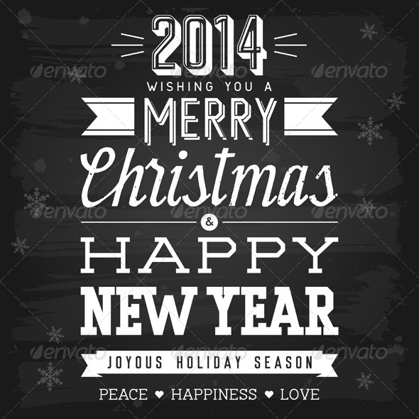 GraphicRiver Christmas and New Year Greetings 5817108