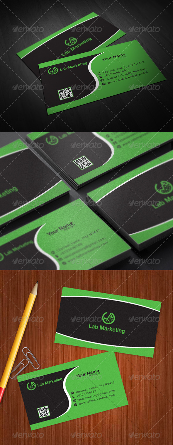 GraphicRiver Lab Business Card 5817208