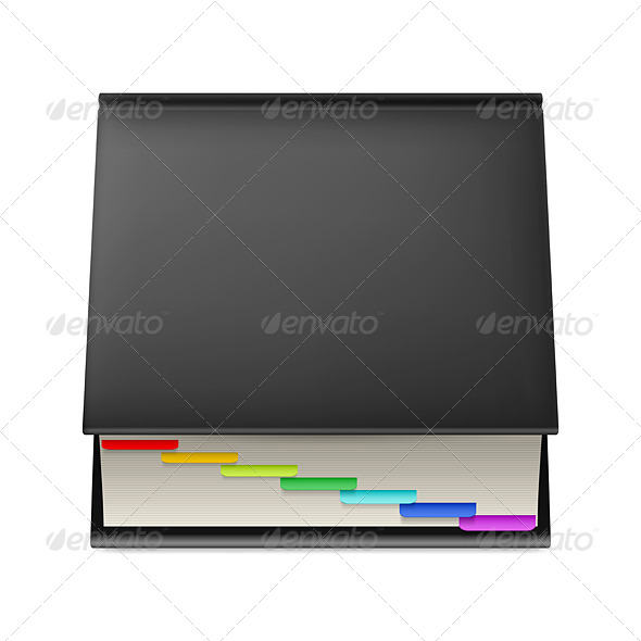GraphicRiver Black Notebook 5817237