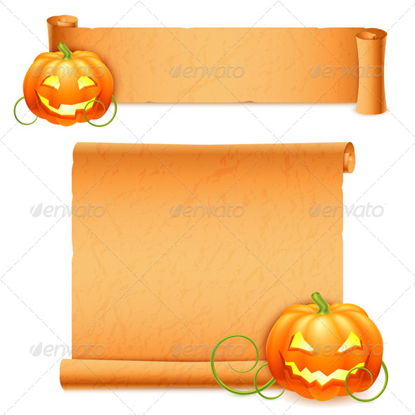 GraphicRiver Halloween Banners 5817501