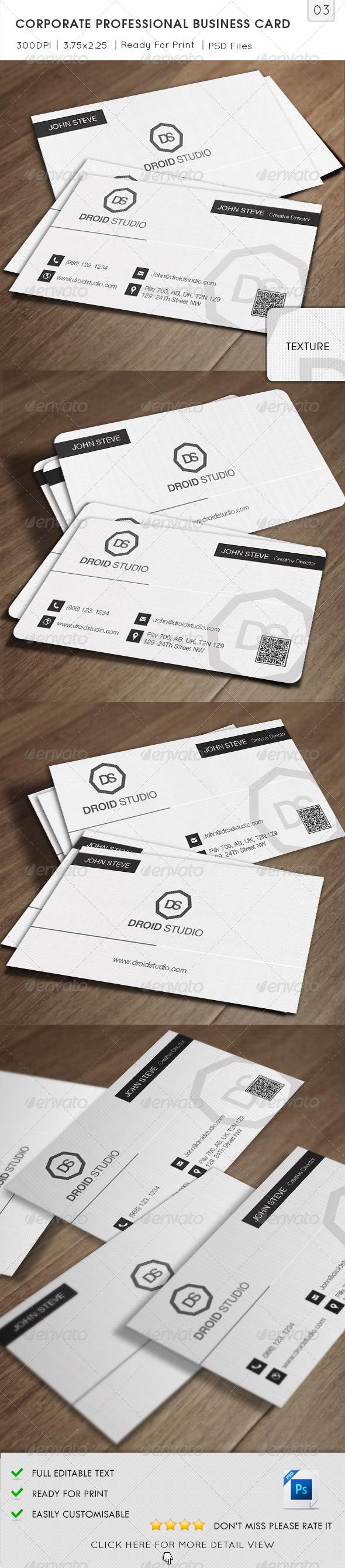 GraphicRiver Corporate Business Card v03 5752457