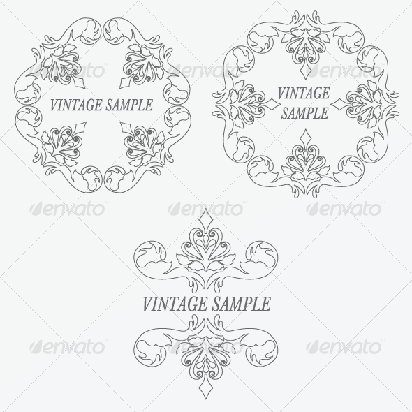GraphicRiver Vintage Frame 15 5821094