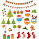 Retro Christmas Set - GraphicRiver Item for Sale