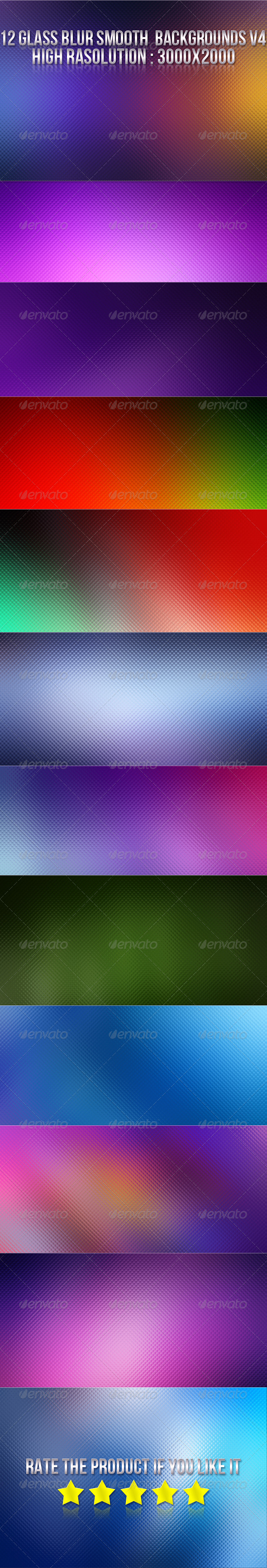 GraphicRiver 12 Glass Blur Backgrounds V4 5821543