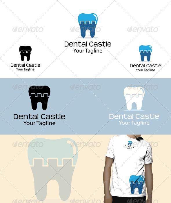 GraphicRiver Dental Castle Logo 5821545