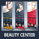 Beauty Center & Spa Business Roll Up Banners - GraphicRiver Item for Sale