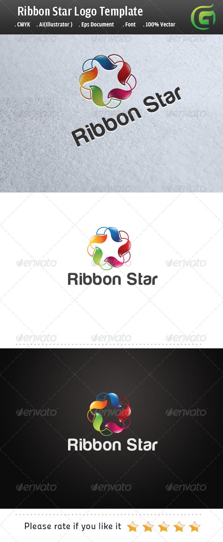GraphicRiver Ribbon Star 5821604