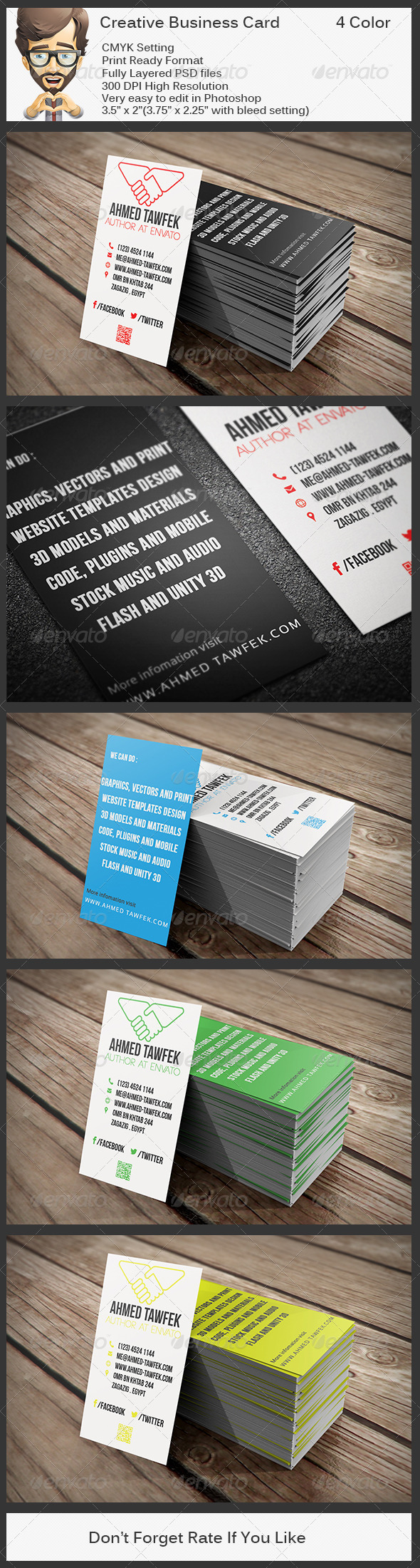 GraphicRiver Creative Business Card 5823453