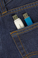memory stick in jeans pocket - PhotoDune Item for Sale