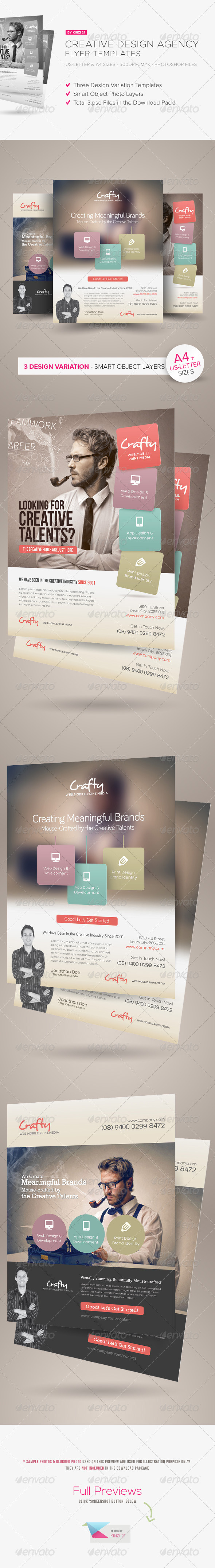 Creative Design Agency Flyers - Corporate Flyers
