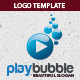 Play Bubble Logo Template - GraphicRiver Item for Sale