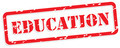 Education Rubber Stamp Vector - PhotoDune Item for Sale
