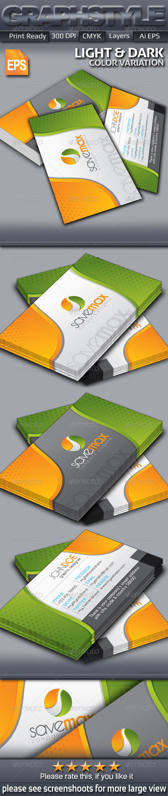 GraphicRiver Savemax Business Card 5722410