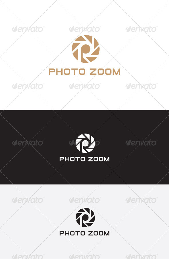 GraphicRiver P Letter Logo Design 5825709