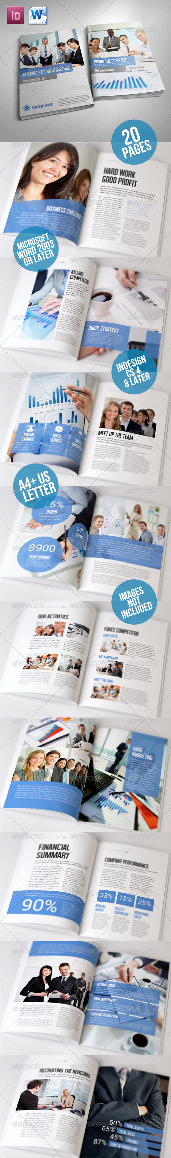 GraphicRiver Simple Brochure Volume II 5826180