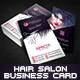 Creative Hair Salon Business Card - GraphicRiver Item for Sale