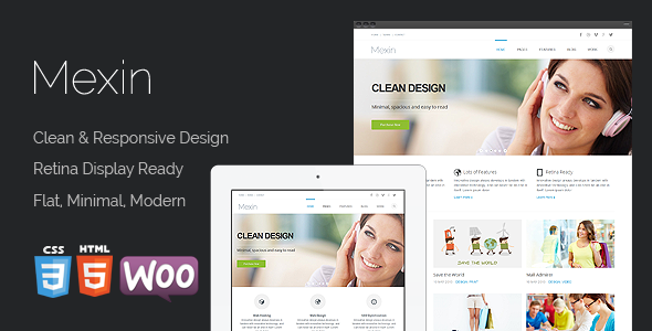 ThemeForest Mexin Premium Multipurpose Responsive Theme 5828010