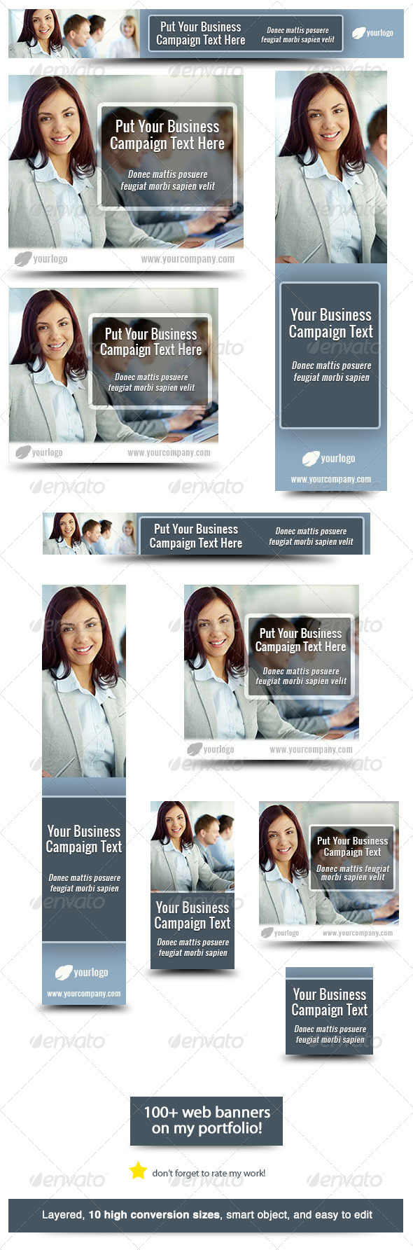 GraphicRiver Business Banner Design Template 3 5829914