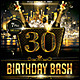Birthday Bash Poster/Flyer - GraphicRiver Item for Sale