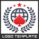 Poker World - Logo Template - GraphicRiver Item for Sale