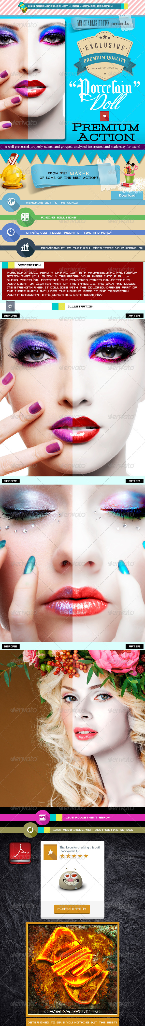 GraphicRiver Porcelain Doll Beauty Lab Action 5834119