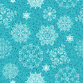 Seamless Winter Pattern with Snowflakes - PhotoDune Item for Sale