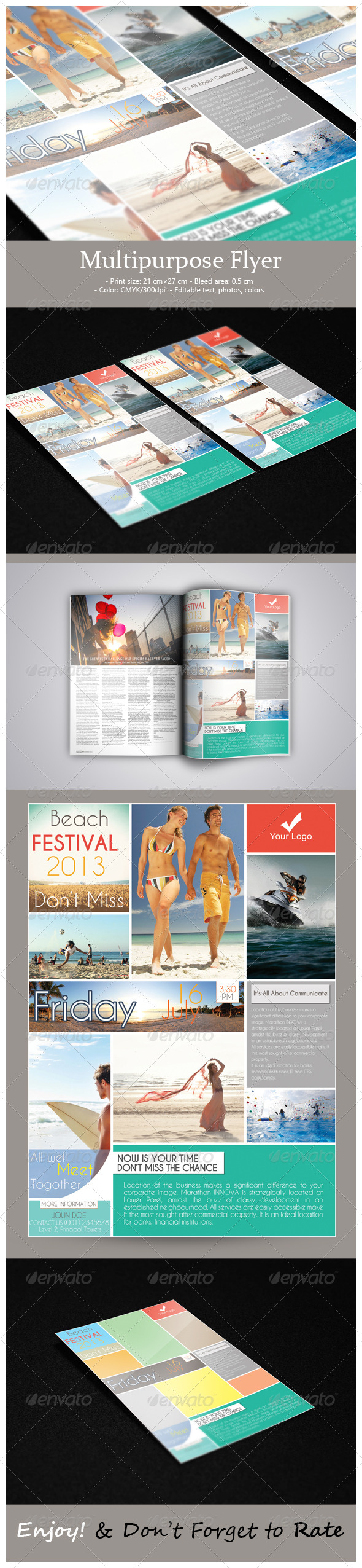 GraphicRiver Multipurpose Flyer 5384607