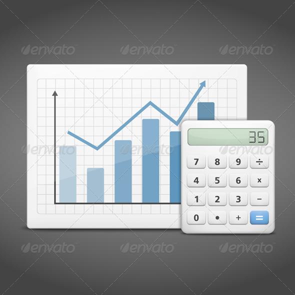 GraphicRiver Graph with Calculator 5838867