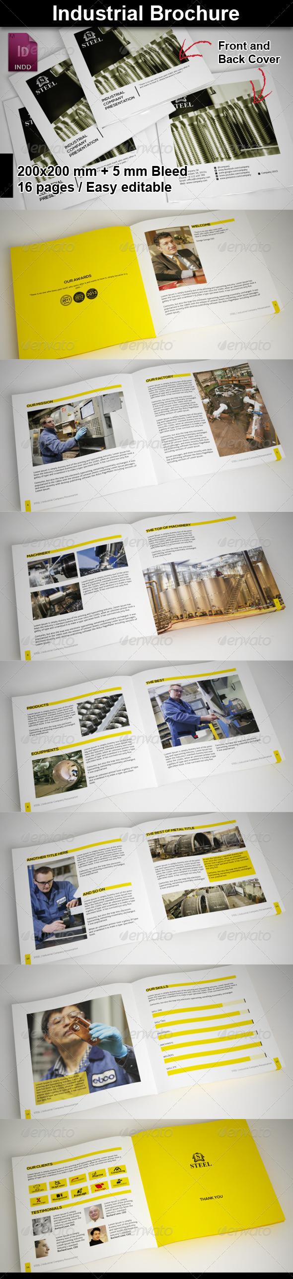 GraphicRiver Industrial Brochure 5841061