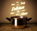Bright comments above cooking pot - PhotoDune Item for Sale