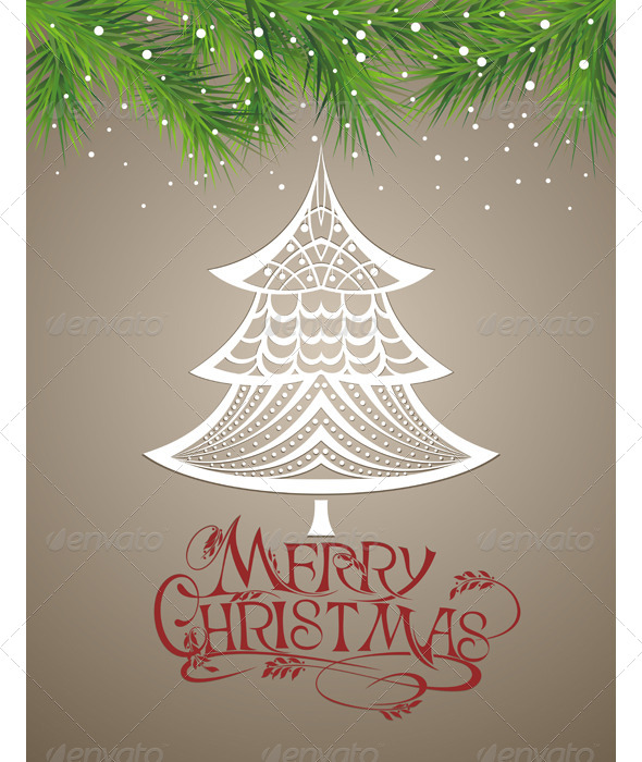 GraphicRiver Christmas Background 5841201